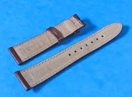 genuine brown leather band strap rolex daytona gmt master explorer datejust20mm