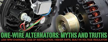 high output alternator wiring diagram wiring diagram schematics one wire alternators are they better or just easier to hook up delco 10si alternator wiring diagrams