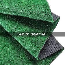 fake grass carpet. Patio 65\u0027x3\u0027 Artificial Turf Synthetic Fake Grass Carpet Mat