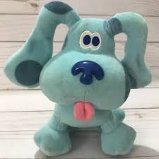BLUES CLUES Plush Blue Dog Eden Puppy 8 Soft Toy Stuffed Animal