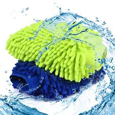 WALTSOM <b>Car Wash Mitt</b>, 2 Pack (Waterproof) Wash <b>Mitt</b> Large Size ...