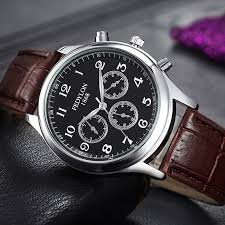 quality watches for men reviews online shopping quality watches fashion casual mens watches luxury brand high quality leather business quartz watch men waterproof wristwatch relogios masculino