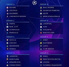 Die uefa champions league 2020/21 ist die 29. Champions League Real Gegen Shakhtar Inter Und Gladbach Real Total