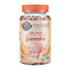 garden of life mykind organics kids multi gummies fruit 120 count