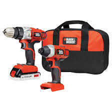 black and decker 20v lithium drill. \ black and decker 20v lithium drill