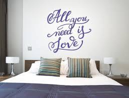 Romantischer Wandtattoo Spruch Liebe Auf Englisch I Love Wandtattoode