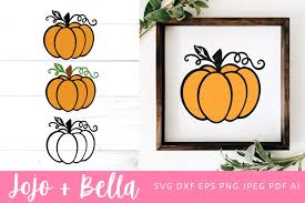 Harvest time is all about abundance, and this kit is no exception! Pumpkin Svg Fall Svg Halloween Svg 906258 Cut Files Design Bundles