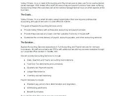 Accounting Proposal Template Partnership Agreement Template Word