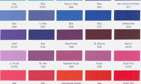 Dupont Color Chart For Cars 57 Precise Dupont Marine Paint Color Chart
