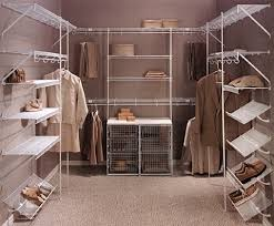 Walk in Closet Wire Shelving Options by Rubbermaidthe Custom Closet