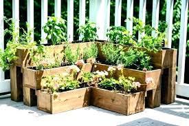 balcony herb garden ideas nice patio inspiring gardens