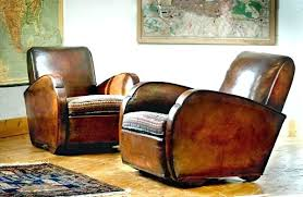 Antique Leather Sofa Brown  Alluring Vintage Armchair33