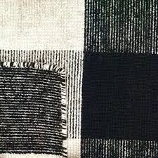 black white rug royal black white rug 2 x 4