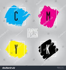 Cmyk Color Model Refers Four Inks Stock Vector 399174901