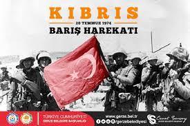 BAŞKAN ŞENSOY'UN KIBRIS BARIŞ HAREKATI MESAJI - Gerze Belediyesi