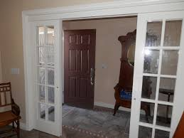 White Sliding French Doors Interior
