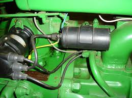 1950 b ignition wiring john deere close up