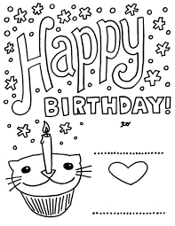 free printable birthday cards for kids birthday card ideas free