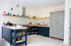 Upcycled Kitchen A Bespoke Painted Reclaimed Upcycled Kitchen London Pinned From