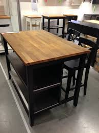 Furniture Style Kitchen Island Ikea Stenstorp Kitchen Island Dark Oak Front Http Wwwikeacom