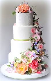 a wedding cake is the traditional cake served at wedding