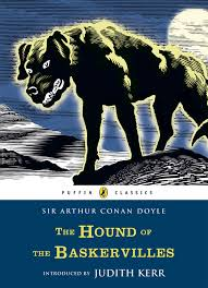 puffin classics the hound of the baskervilles phosphor art