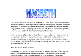 is macbeth a moral play essay golvslipning is macbeth a moral play essay