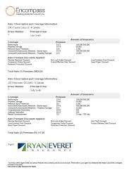 An insurance declaration page is a summary of what is contained in an insurance policy. Sample Of Auto Declarations Page Ryan Everet Insurance