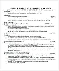 Waitress Resume Interesting Cocktail Waitress Resume Hotel And Restaurant Management Being