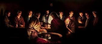 a painting by andrew white the last supper