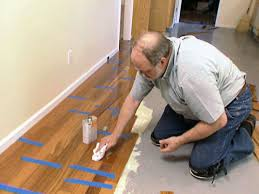 diy installing hardwood floors over concrete