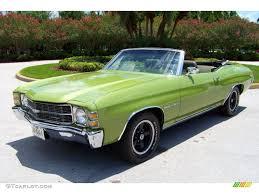 1971 Lime Green Chevrolet Chevelle Malibu 400 Convertible ...