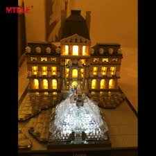 lego lighting. MTELE Brand LED Light Up Kit For Architecture Louvre Building Block Lighting Set Compatible With Lego 21024-in Blocks From Toys \u0026 Hobbies On Aliexpress.com