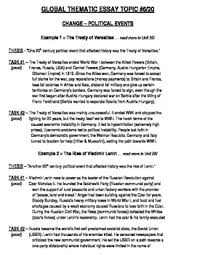 global history thematic essay global history thematic essay topic 6 20 body outline example tpt
