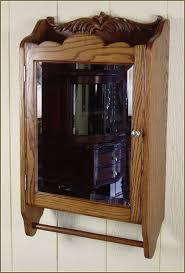 Wood Medicine Cabinet With Mirror Wood Medicine Cabinet With Mirror Home Design Ideas