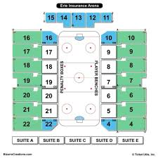 Erie Tullio Arena Seating Chart Erie Insurance Arena Stage Related Keywords Suggestions