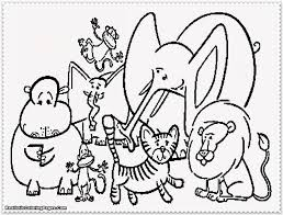 Small Picture Coloring Pages Free Printable Zoo Animal Coloring Pages Free