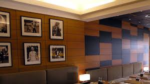 Small Picture Panelling wall and ceiling stained oak veneer Innovative Joinery
