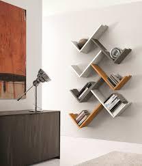 wooden wall shelves bookshelf design