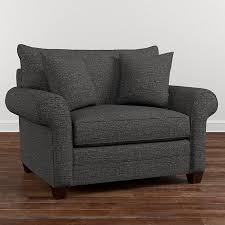 grey chair and a half gray chair and a half with ottoman gray microfiber chair and
