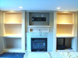 installing tv above fireplace wiring what cables to run behind flat screen over