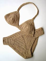 Free Crochet Bikini Pattern Simple Decoration