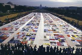 How Do We Honor Those Lost To AIDS? From The AIDS Quilt To New ... & The AIDS Quilt makes its first appearance on the National Mall in  Washington, D.C., Adamdwight.com