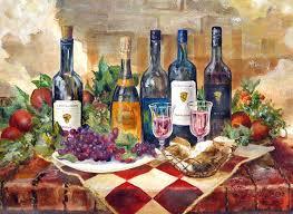 vino italiano ii watercolor of italy