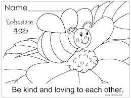 Free Printable Sunday School Coloring Pages For Preschoolers