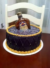 Liquor Bottle Cake Decorations