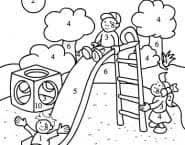 Kleurplaat Anna En De Herfst Leuk Voor Kids Woezel En Pip Spelen