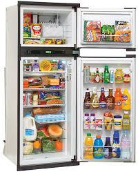 open refrigerator in kitchen. open refrigerator · norcold nxa841 in kitchen n