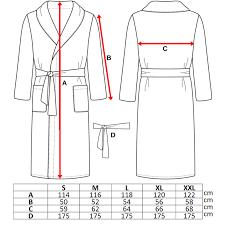 100 Cotton Terry Toweling Grey Shawl Collar Bathrobe Dressing Gown Bath Robe Medium Slate S5055872811433