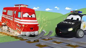 Đường ray bị hỏng - đội xe tuần tra ? ? những bộ phim hoạt hình về xe tải  l Vietnamese Cartoons - YouTube